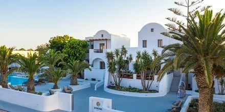 Hotel Strogili på Santorini, Grækenland.