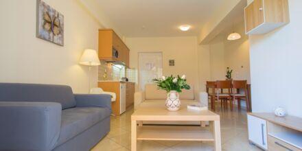 2-værelses lejlighed på Hotel Summer Dream på Kreta, Grækenland.