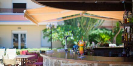 Bar på Hotel Summer Dream på Kreta, Grækenland.