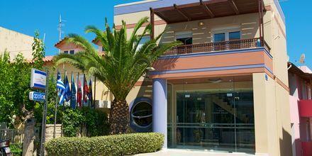 Indgang til Hotel Summer Dream på Kreta, Grækenland.