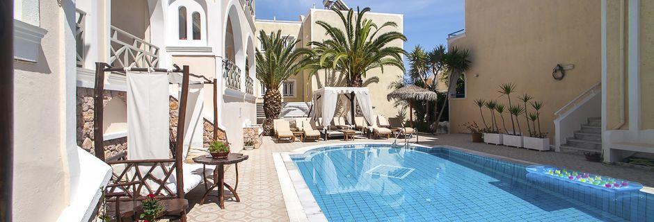 Hotel Summer Dream i Kamari på Santorini.