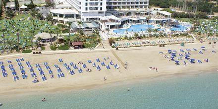 Sunrise Beach i Fig Tree Bay, Cypern.