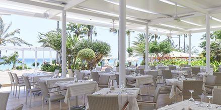 Restaurant Levanda på Sunrise Beach i Fig Tree Bay, Cypern.