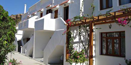 Hotel Sunset i Lefkos på Karpathos, Grækenland.