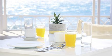 Hotel Sunshine i Kamari på Santorini