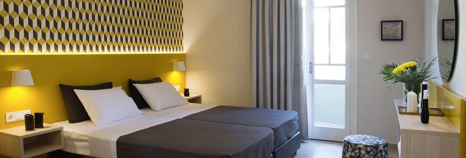 1-værelses lejlighed på Hotel Sunshine Studios, Malia.