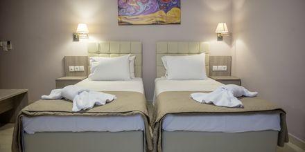 Dobbeltværelse på Hotel Sunwaves i Vassiliki på Lefkas.