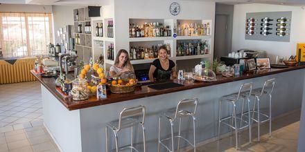 Restaurant på Hotel Sunwaves i Vassiliki på Lefkas.