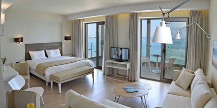 Superior-suite på Swell Boutique Hotel i Rethymnon på Kreta.