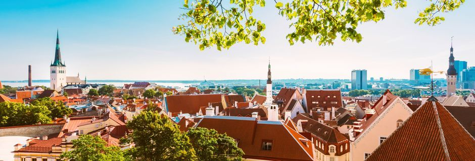 Tallinn i Estland