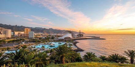Solnedgang på Tenerife, De Kanariske Øer.