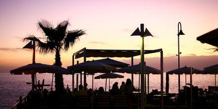 Aften i Los Gigantes & Playa de la Arena på Tenerife.