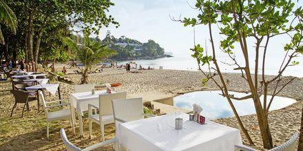 Strandrestaurant på Surin Beach, Phuket