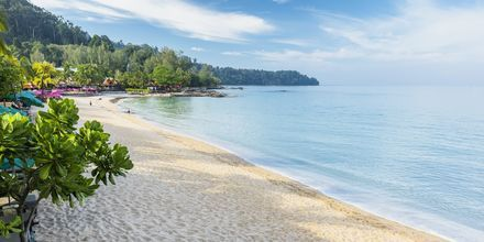 Strand i Khao Lak i Thailand.