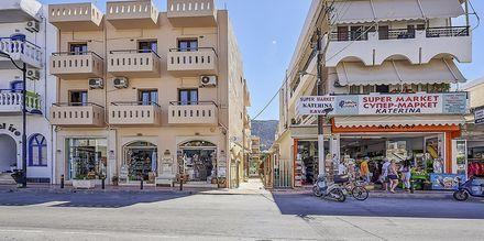 Hotel Thalia i Hersonissos på Kreta.