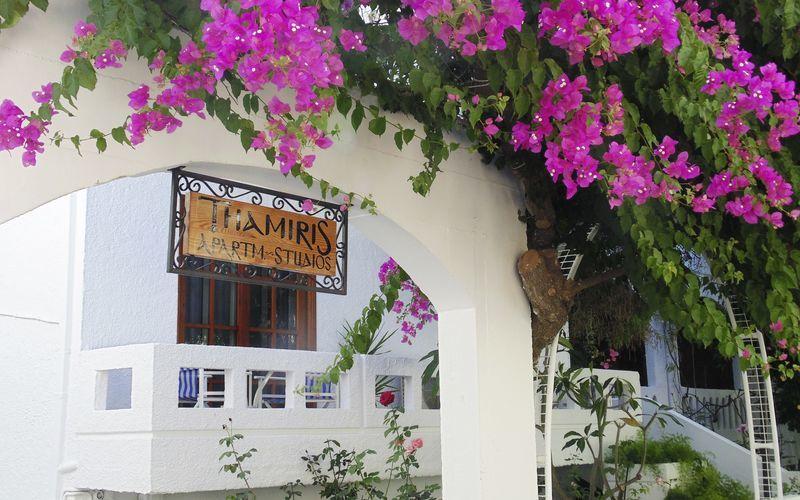 Hotel Thamiris i Kalives, Kreta.