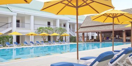 Relaxpoolen på Thanyapura Sport & Health Resort på Phuket i Thailand.