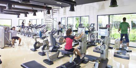Fitnessrum på Thanyapura Sport & Health Resort på Phuket i Thailand.