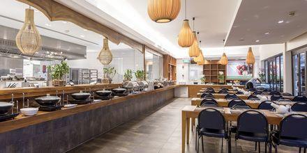 Divine Restaurant på Thanyapura Sport & Health Resort på Phuket i Thailand.