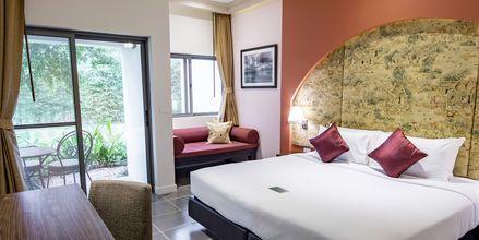 Dobbeltværelse i Garden Wing på Thanyapura Sport & Health Resort på Phuket i Thailand.
