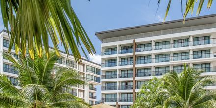 Hotel The Beach Heights i Phuket, Thailand.