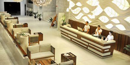 Lobbyen på Hotel The Cliff Resort i Vietnam.