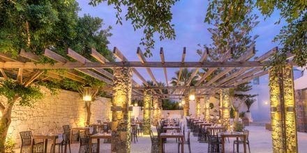Restaurant The Taverna på The Island på Kreta, Grækenland.