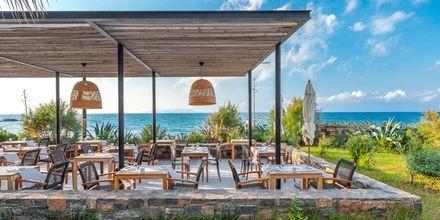 Hovedrestauranten på The Island på Kreta, Grækenland.
