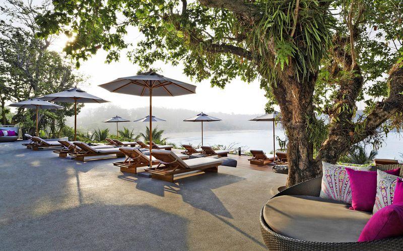 Hotel the Nai Harn på Phuket, Thailand.