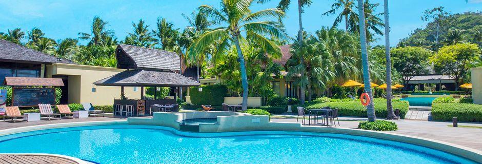 Poolområdet på The Passage Samui Villas & Resort, Thailand.
