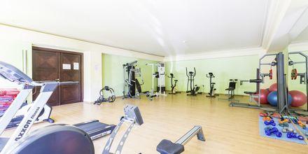 Fitnessrum på hotel Theartemis Palace på Kreta, Grækenland.