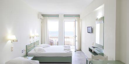 Renoveret 1-værelses lejlighed på Hotel Theo på Kreta, Grækenland.