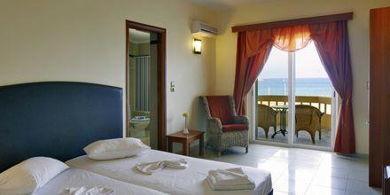 2-værelses lejlighed på Hotel Theo på Kreta, Grækenland.