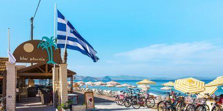 Tigaki-stranden på Kos, Grækenland.