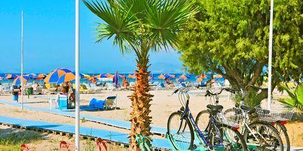 Stranden ved Tigaki & Marmari på Kos, Grækenland.