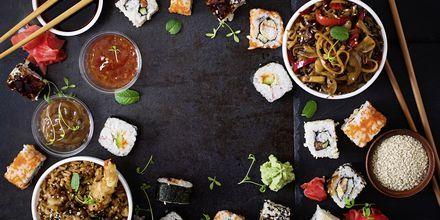 Maden i Tokyo er en skøn blanding af sushi, grill og friteret mad samt lækre supper.