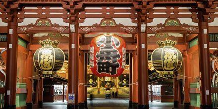 Tokyos ældste tempel hedder Sensoji og er det mest kendte tempel.