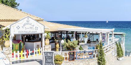 Restaurant i Tragaki på Zakynthos, Grækenland.