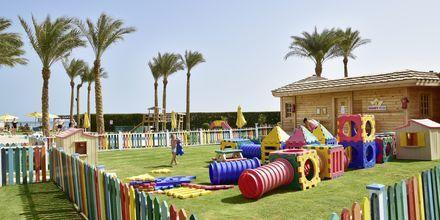 Legeplads på Hotel Tropitel i Sahl Hasheesh, Egypten