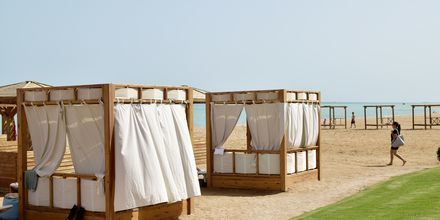 Stranden ved Hotel Tropitel i Sahl Hasheesh, Egypten