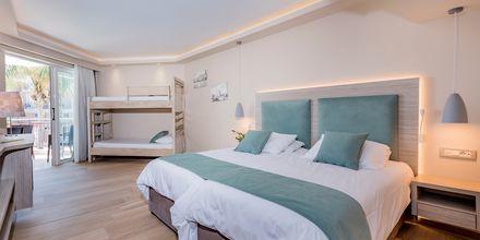 Dobbeltværelse på Hotel Tsilivi Beach på Zakynthos, Grækenland.