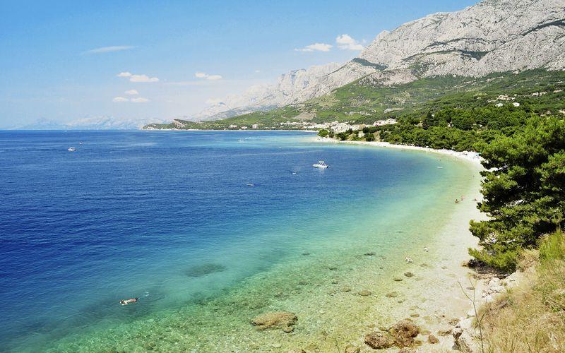 Tucepi i Kroatien