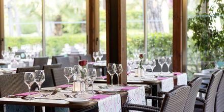 Restaurant Begonville på hotel Turquoise Resort Hotel & Spa i Side, Tyrkiet.