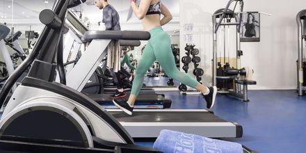 Fitness på hotel Turquoise Resort Hotel & Spa i Side, Tyrkiet.