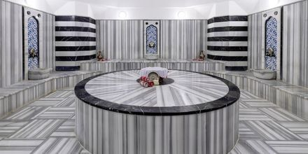 Hamam på hotel Turquoise Resort Hotel & Spa i Side, Tyrkiet.