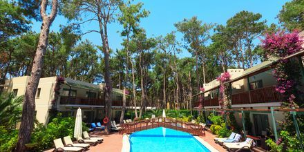 Sidebygning på Turquoise Resort Hotel & Spa i Side, Tyrkiet.