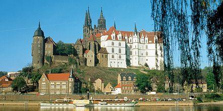 Tyskland har mange store slotte og smukke bygninger.