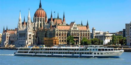 Parlamentet i Budapest, Ungarn.
