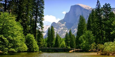 Yosemite Nationalpark i i Californien, USA.