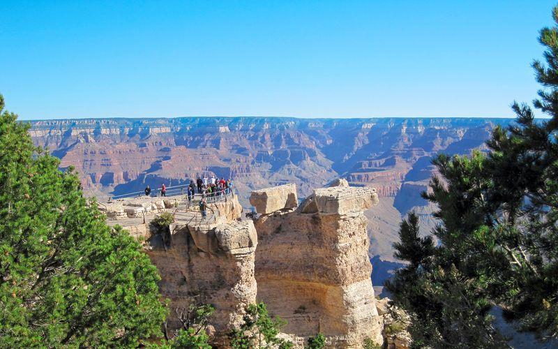 Grand Canyon er en uforglemmelig oplevelse, når du er på Vestkysten i USA.